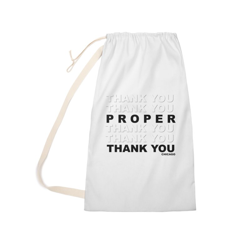 THANK YOU Accessories Bag by Properchicago's Shop