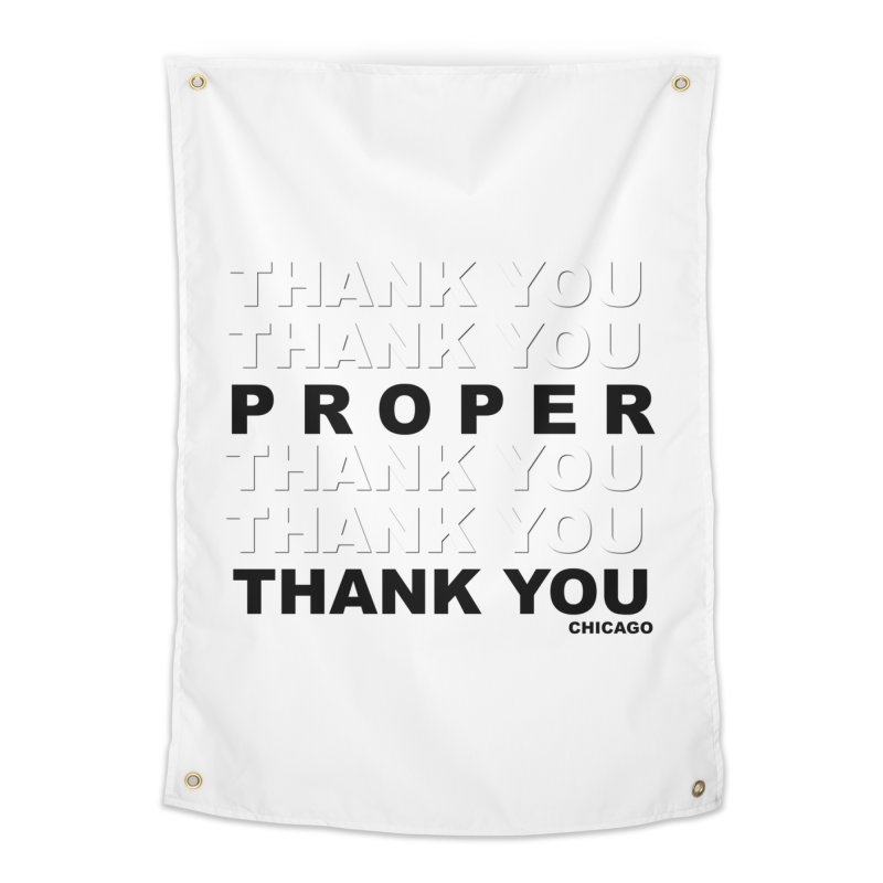 THANK YOU Home Tapestry by Properchicago's Shop