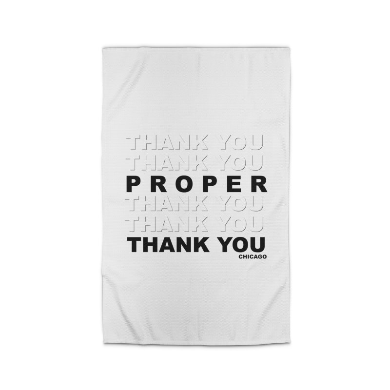 THANK YOU Home Rug by Properchicago's Shop