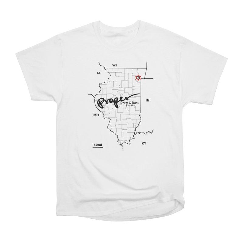 Ill blk 2018 Men's Heavyweight T-Shirt by Properchicago's Shop