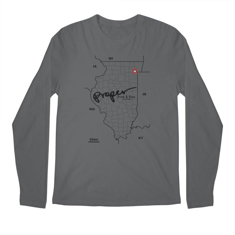 Ill blk 2018 Men's Regular Longsleeve T-Shirt by Properchicago's Shop