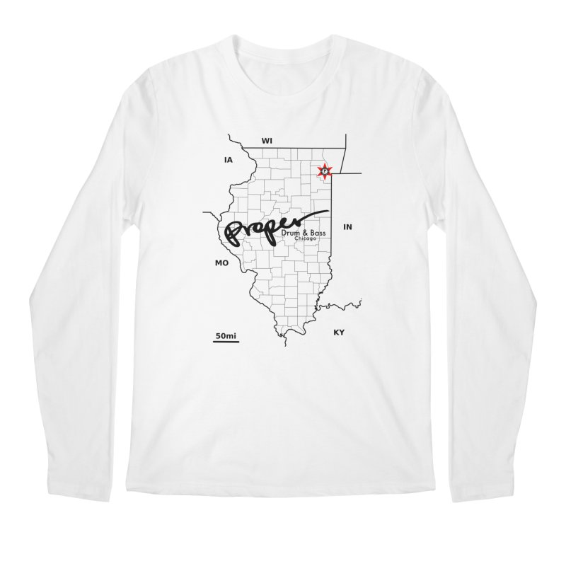 Ill blk 2018 Men's Regular Longsleeve T-Shirt by Properchicago's Shop
