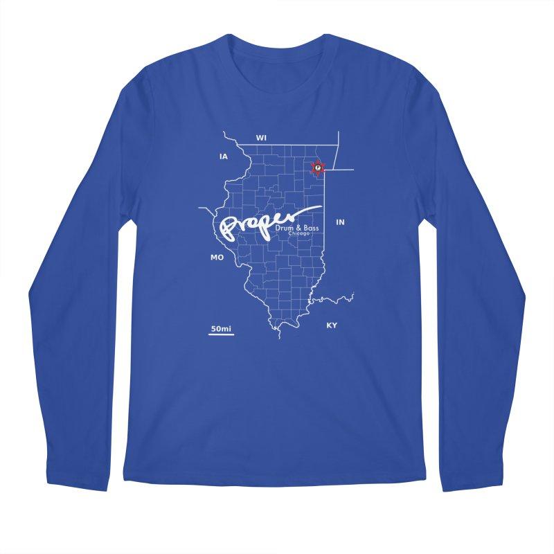 ILL wht 2018 Men's Regular Longsleeve T-Shirt by Properchicago's Shop
