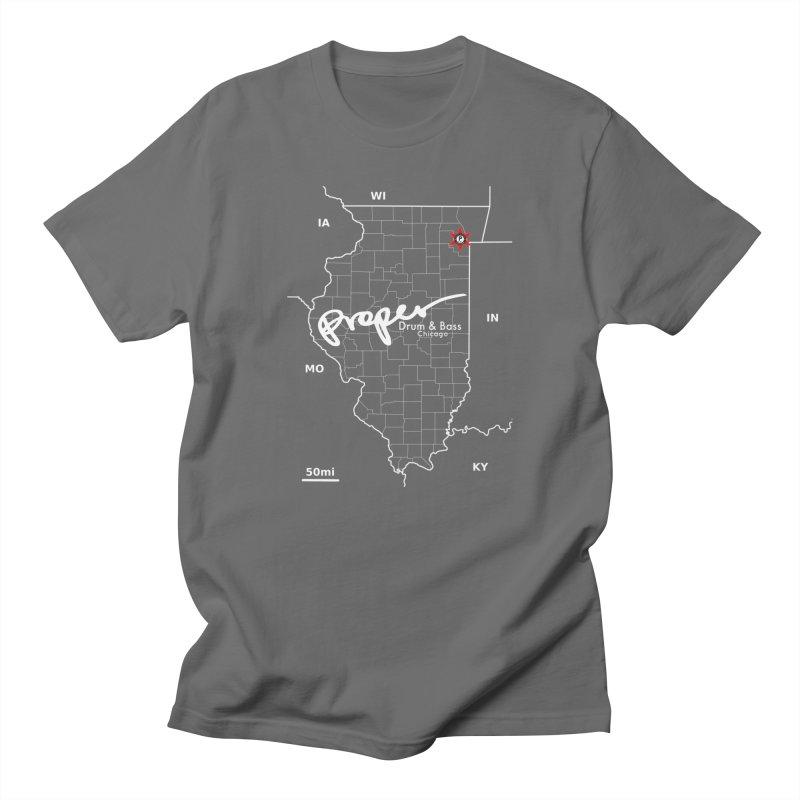 ILL wht 2018 Men's T-Shirt by Properchicago's Shop