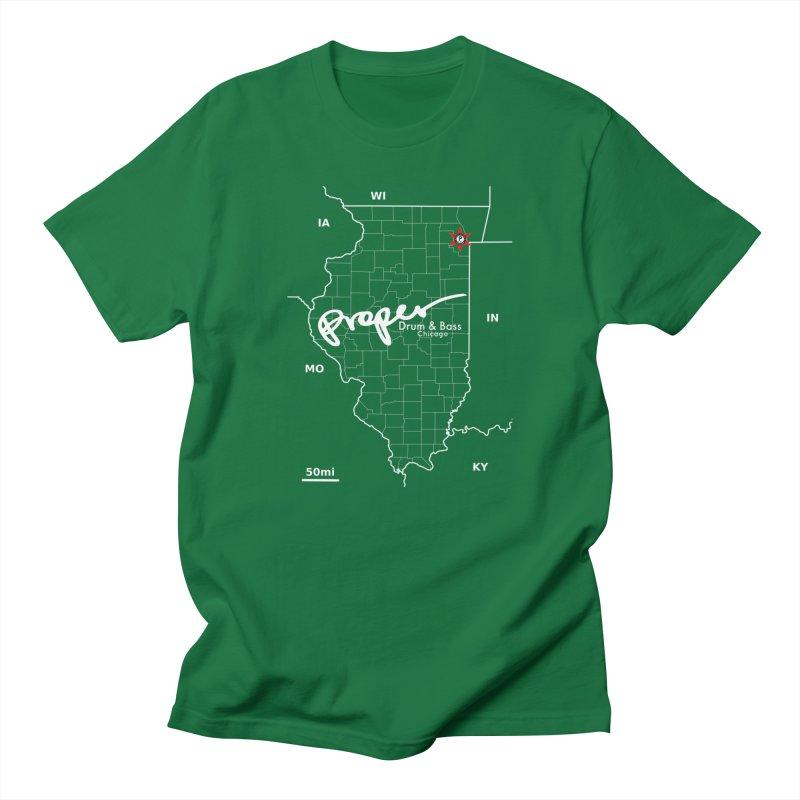 ILL wht 2018 Men's Regular T-Shirt by Properchicago's Shop