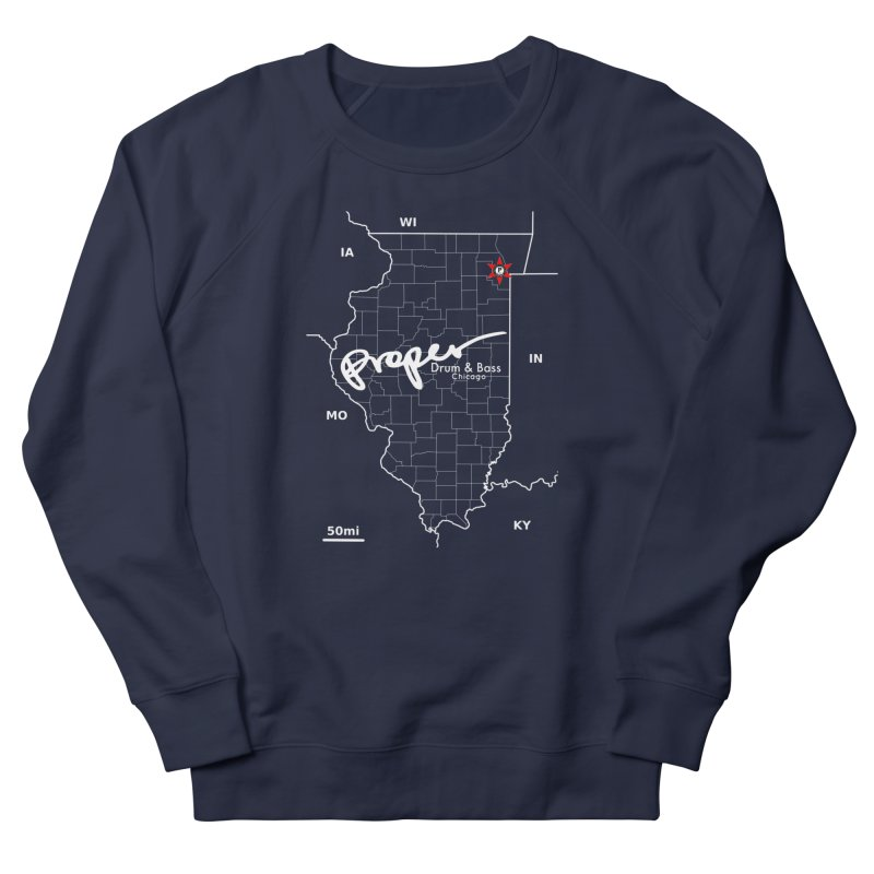 ILL wht 2018 Women's French Terry Sweatshirt by Properchicago's Shop