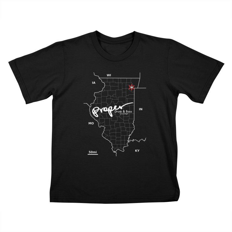 ILL wht 2018 Kids T-Shirt by Properchicago's Shop