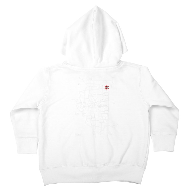 ILL wht 2018 Kids Toddler Zip-Up Hoody by Properchicago's Shop