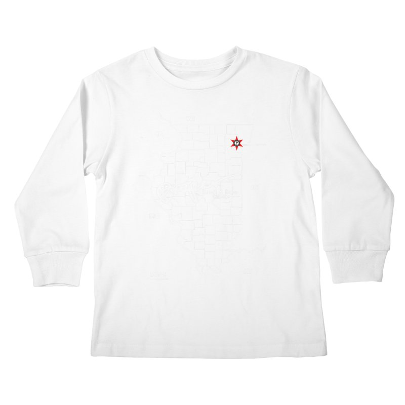 ILL wht 2018 Kids Longsleeve T-Shirt by Properchicago's Shop