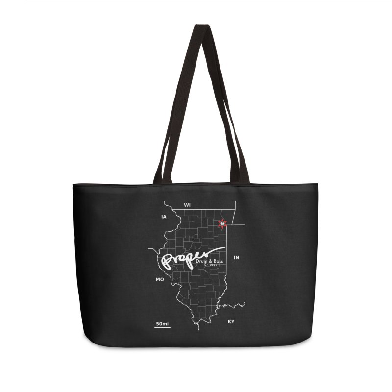 ILL wht 2018 Accessories Weekender Bag Bag by Properchicago's Shop
