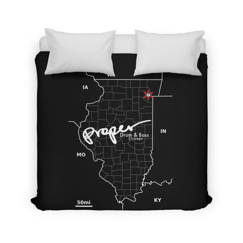 ILL wht 2018 Home Duvet by Properchicago's Shop