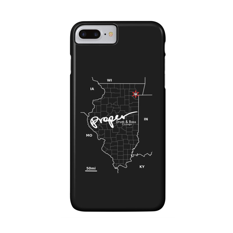 ILL wht 2018 Accessories Phone Case by Properchicago's Shop