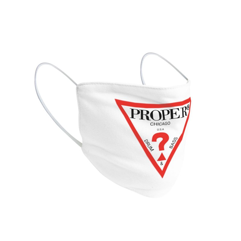 PROPER GUESS Accessories Face Mask by Properchicago's Shop