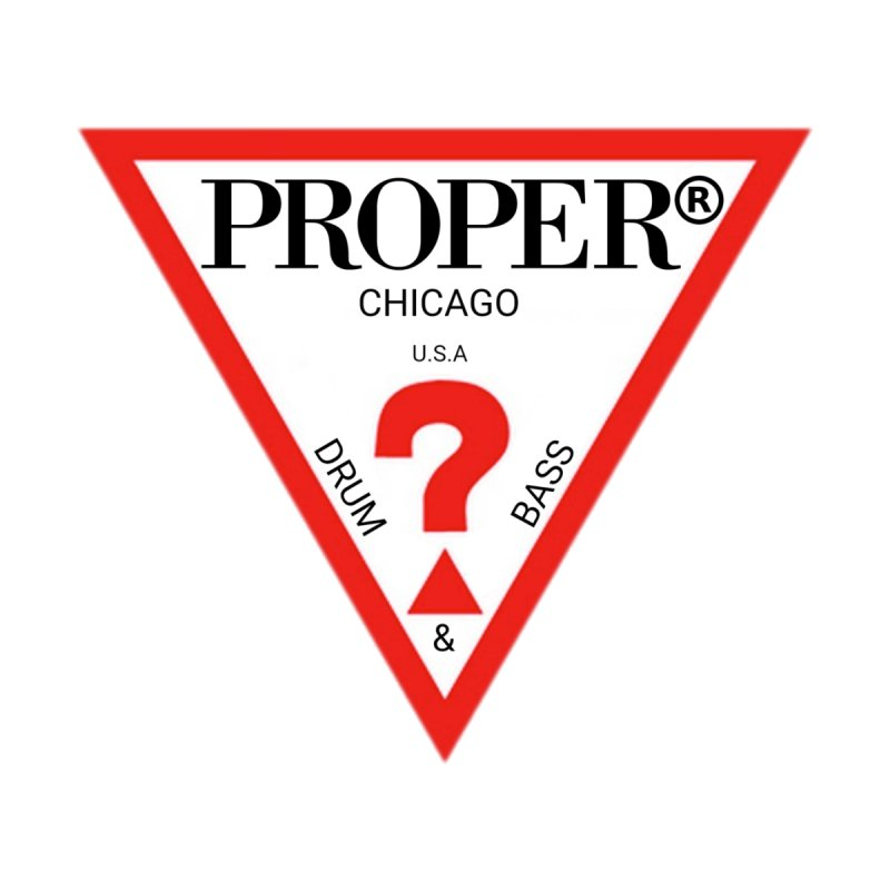 PROPER GUESS Home Mounted Aluminum Print by Properchicago's Shop