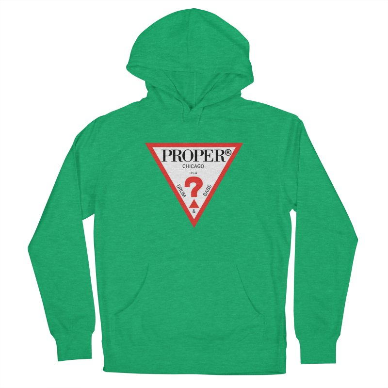 PROPER GUESS Women's French Terry Pullover Hoody by Properchicago's Shop