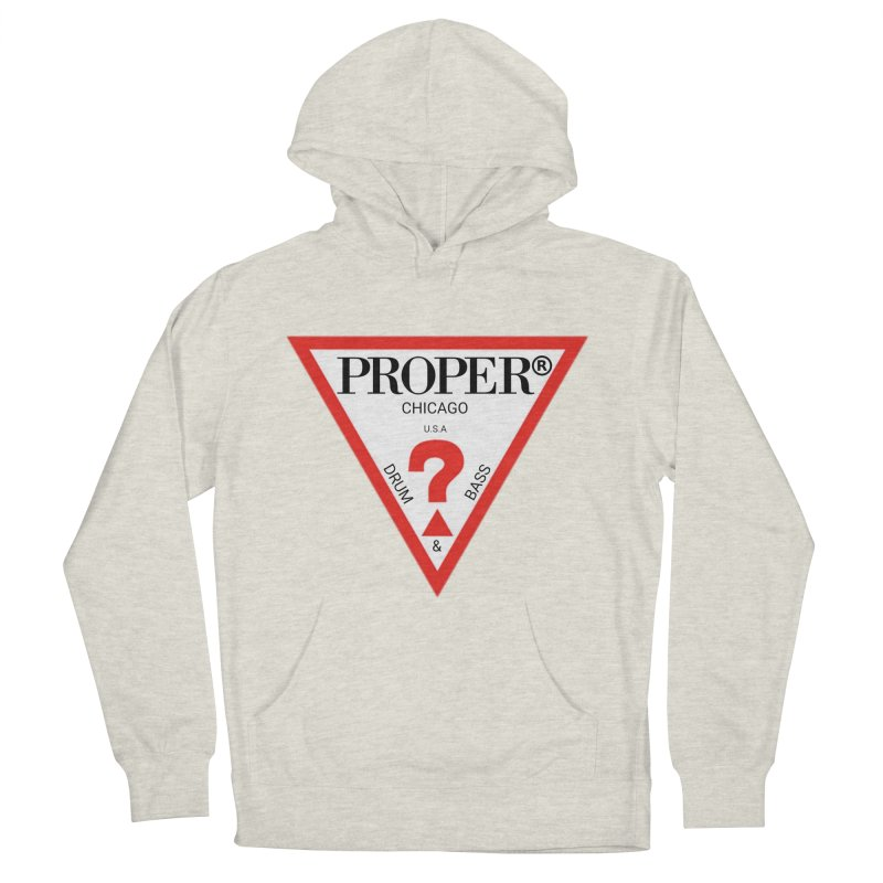 PROPER GUESS Men's French Terry Pullover Hoody by Properchicago's Shop