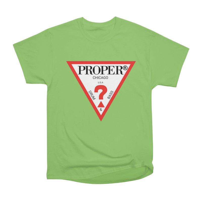 PROPER GUESS Women's Heavyweight Unisex T-Shirt by Properchicago's Shop