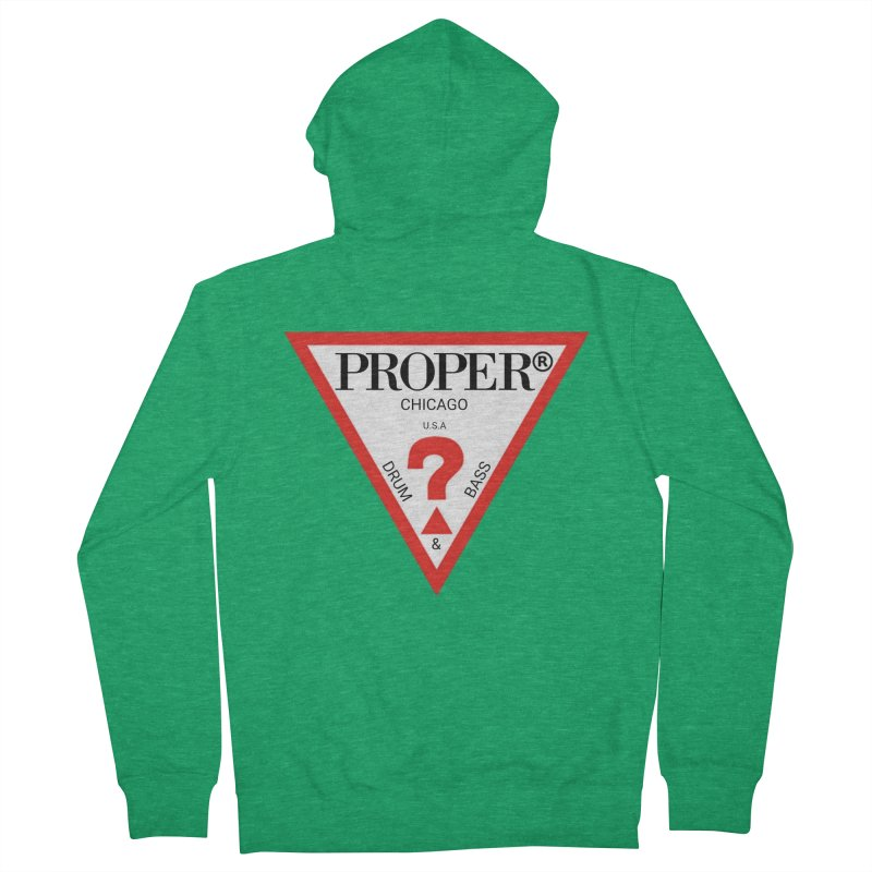 PROPER GUESS Men's French Terry Zip-Up Hoody by Properchicago's Shop