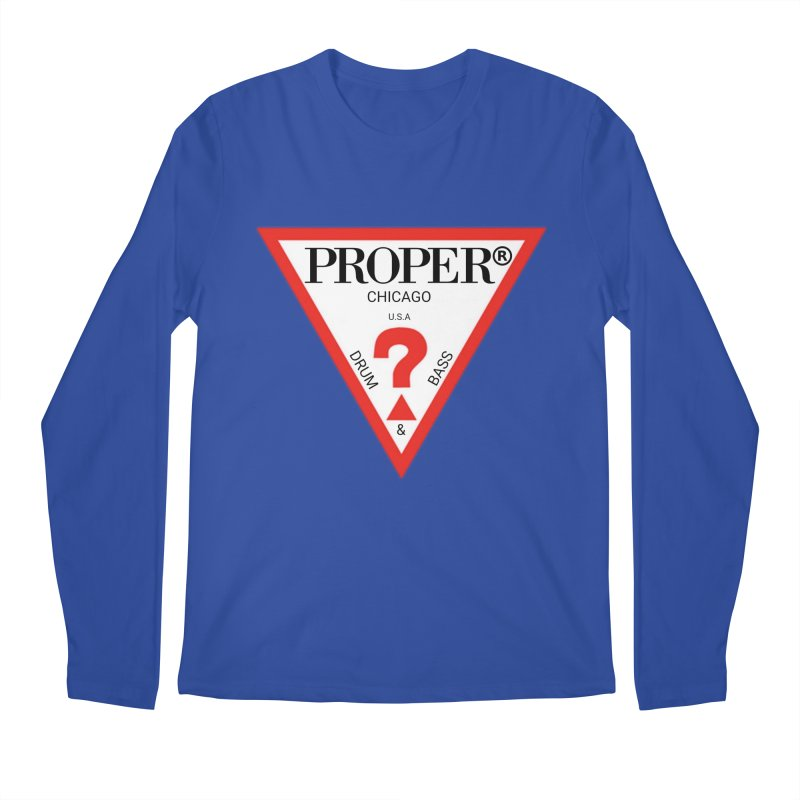PROPER GUESS Men's Regular Longsleeve T-Shirt by Properchicago's Shop