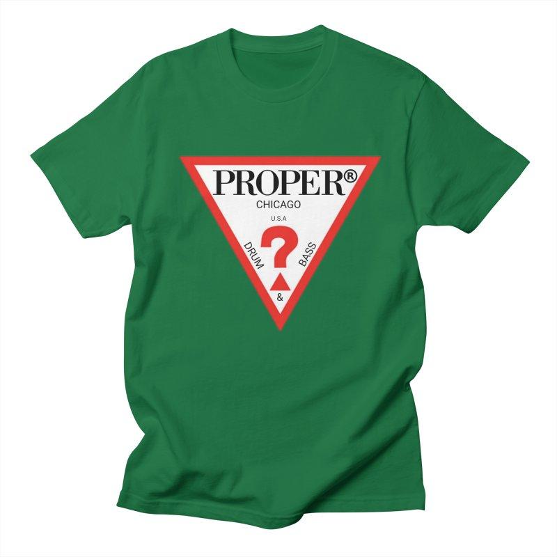 PROPER GUESS Women's Regular Unisex T-Shirt by Properchicago's Shop