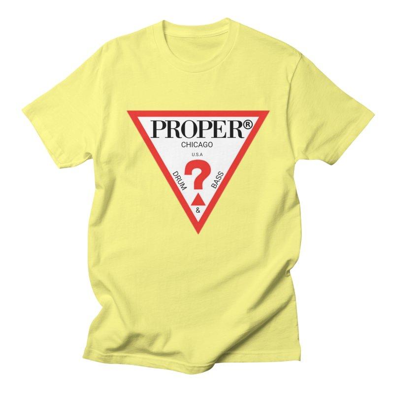 PROPER GUESS Men's T-Shirt by Properchicago's Shop