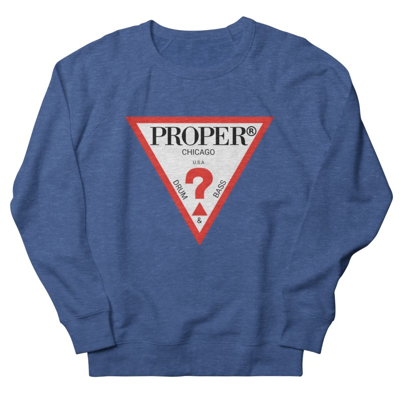 PROPER GUESS Women's French Terry Sweatshirt by Properchicago's Shop
