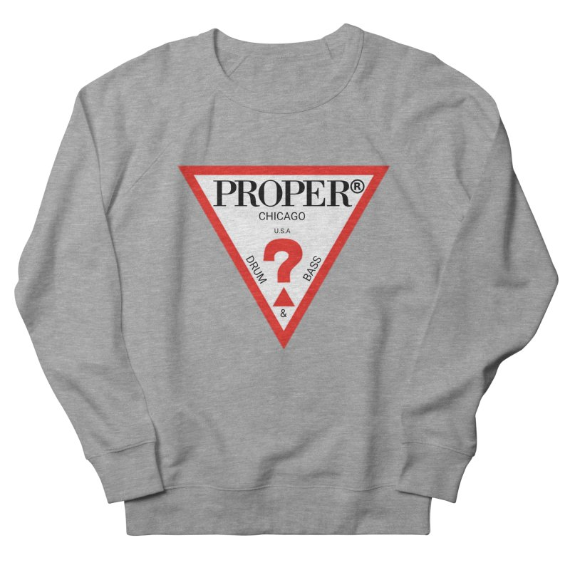 PROPER GUESS Women's French Terry Sweatshirt by Properchicago's Shop
