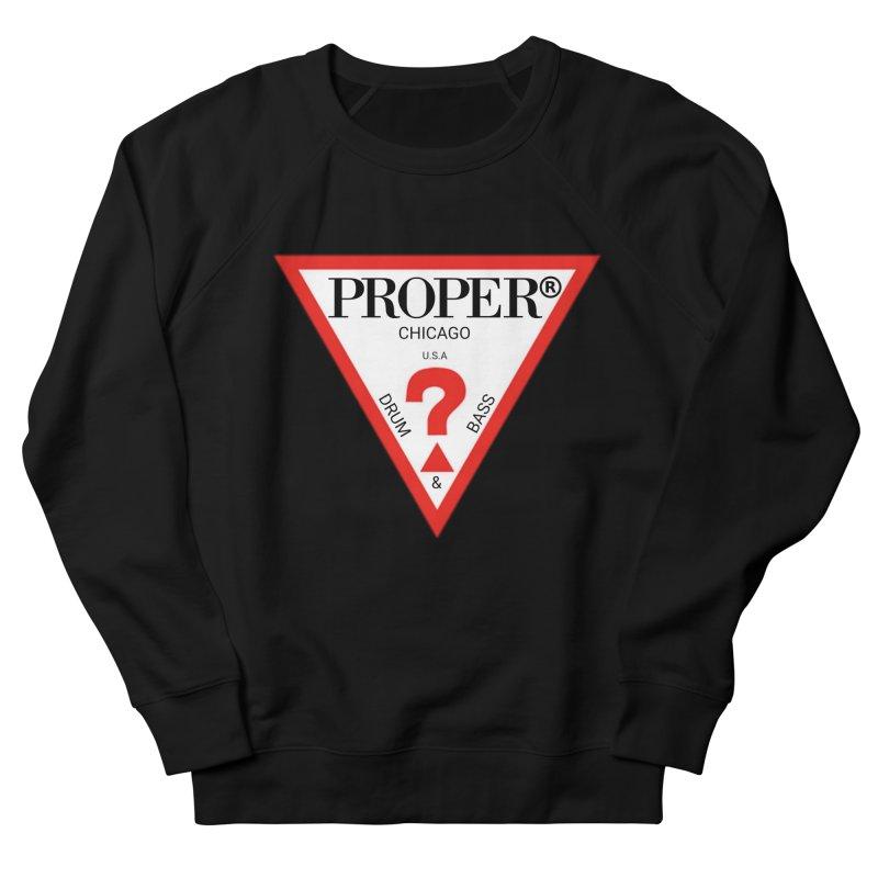 PROPER GUESS Men's French Terry Sweatshirt by Properchicago's Shop