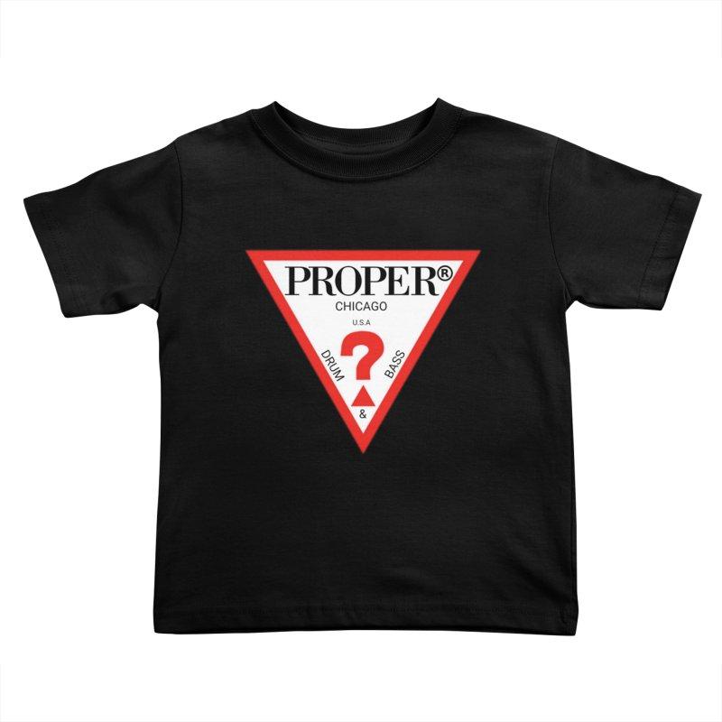 PROPER GUESS Kids Toddler T-Shirt by Properchicago's Shop