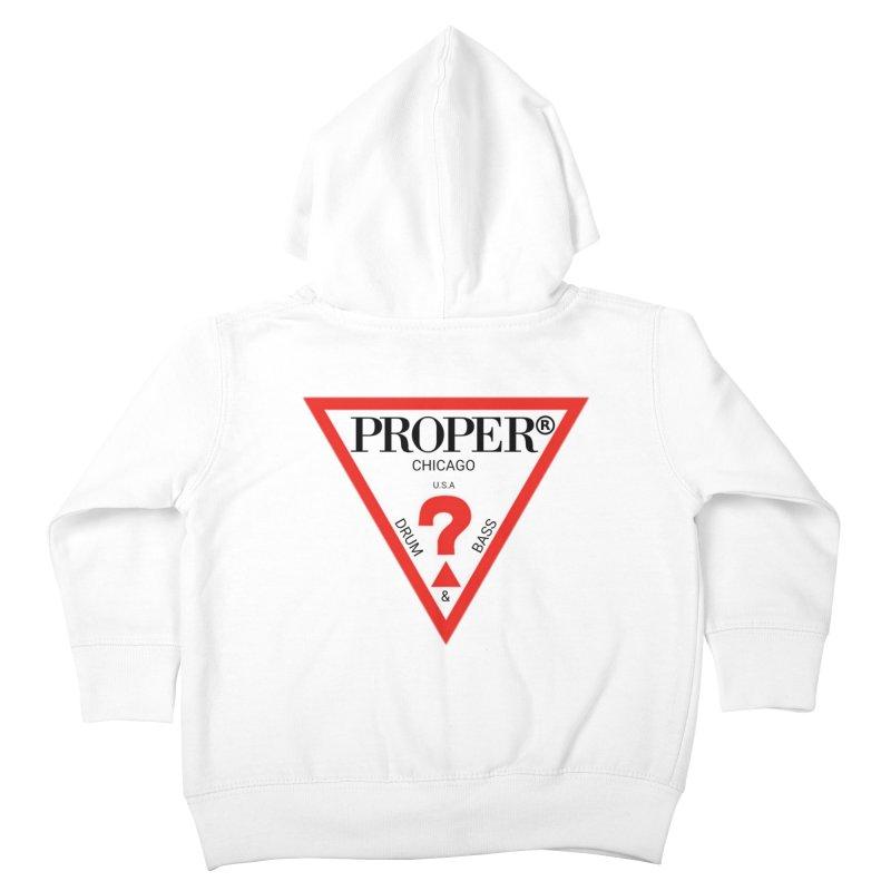 PROPER GUESS Kids Toddler Zip-Up Hoody by Properchicago's Shop
