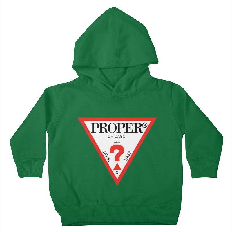 PROPER GUESS Kids Toddler Pullover Hoody by Properchicago's Shop