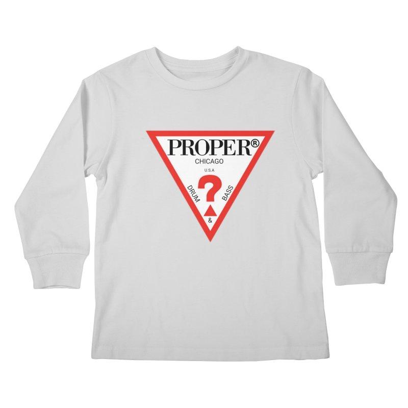 PROPER GUESS Kids Longsleeve T-Shirt by Properchicago's Shop