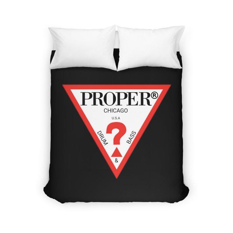 PROPER GUESS Home Duvet by Properchicago's Shop