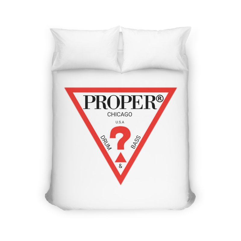 PROPER GUESS Home Duvet by Properchicago's Shop