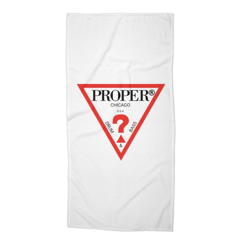 PROPER GUESS Accessories Beach Towel by Properchicago's Shop