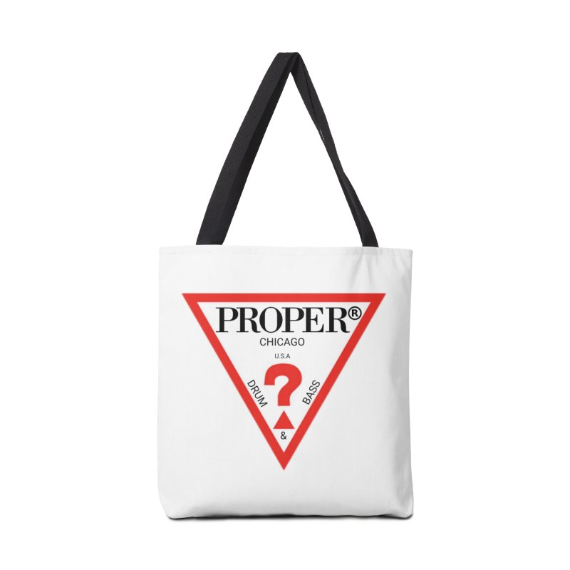 PROPER GUESS Accessories Bag by Properchicago's Shop