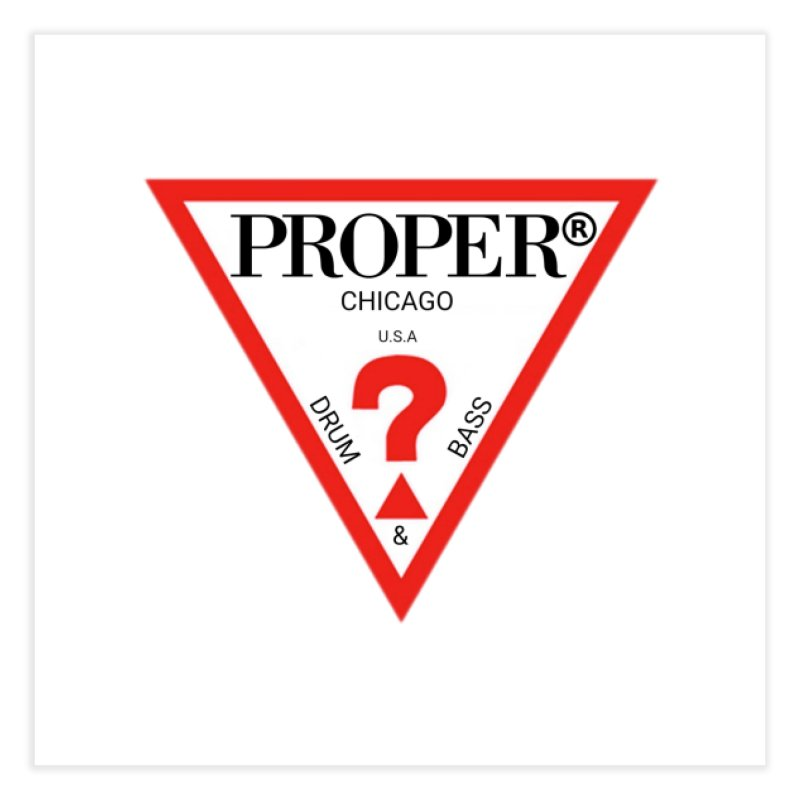 PROPER GUESS Home Fine Art Print by Properchicago's Shop