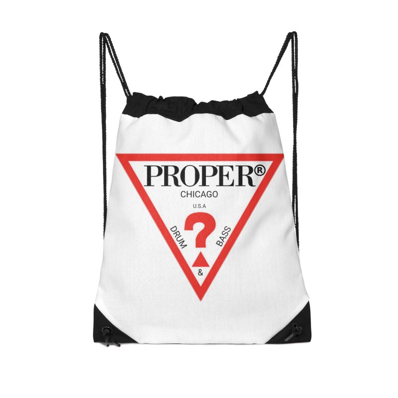 PROPER GUESS Accessories Drawstring Bag Bag by Properchicago's Shop