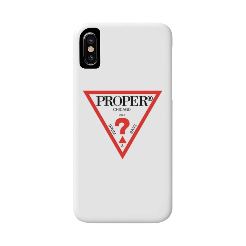 PROPER GUESS Accessories Phone Case by Properchicago's Shop