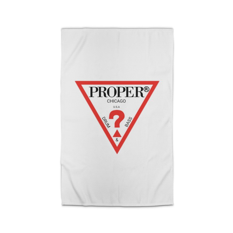 PROPER GUESS Home Rug by Properchicago's Shop