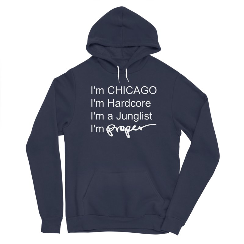 I am Hardcore Women's Sponge Fleece Pullover Hoody by Properchicago's Shop