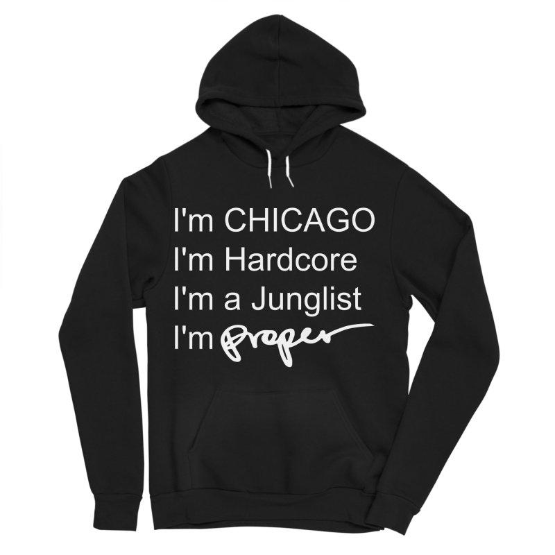 I am Hardcore Women's Sponge Fleece Pullover Hoody by Properchicago's Shop