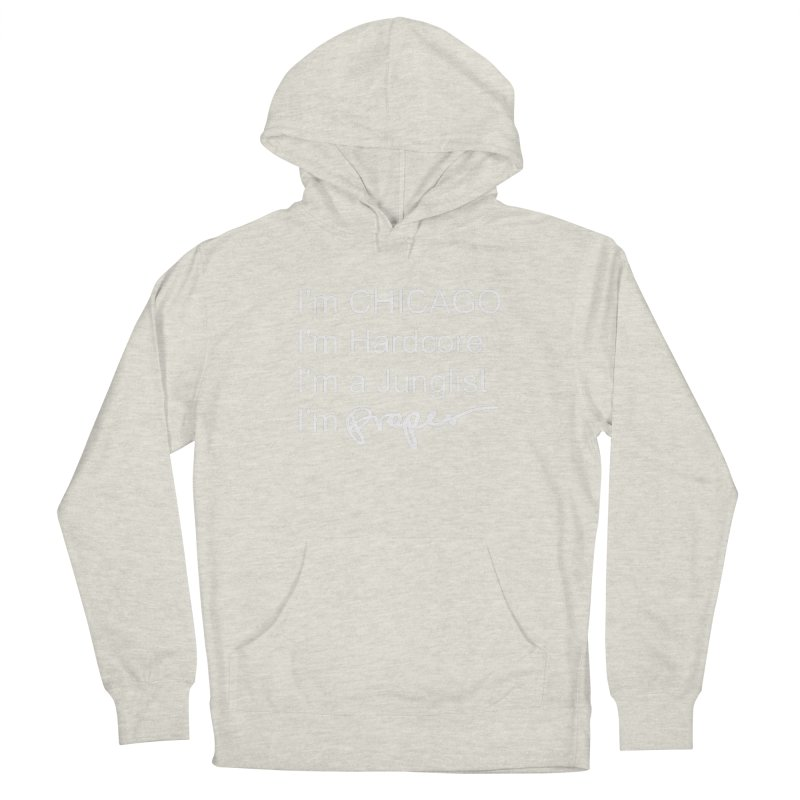 I am Hardcore Women's French Terry Pullover Hoody by Properchicago's Shop