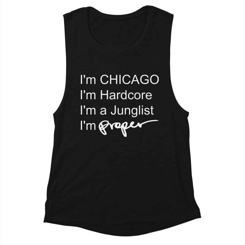 I am Hardcore Women's Muscle Tank by Properchicago's Shop