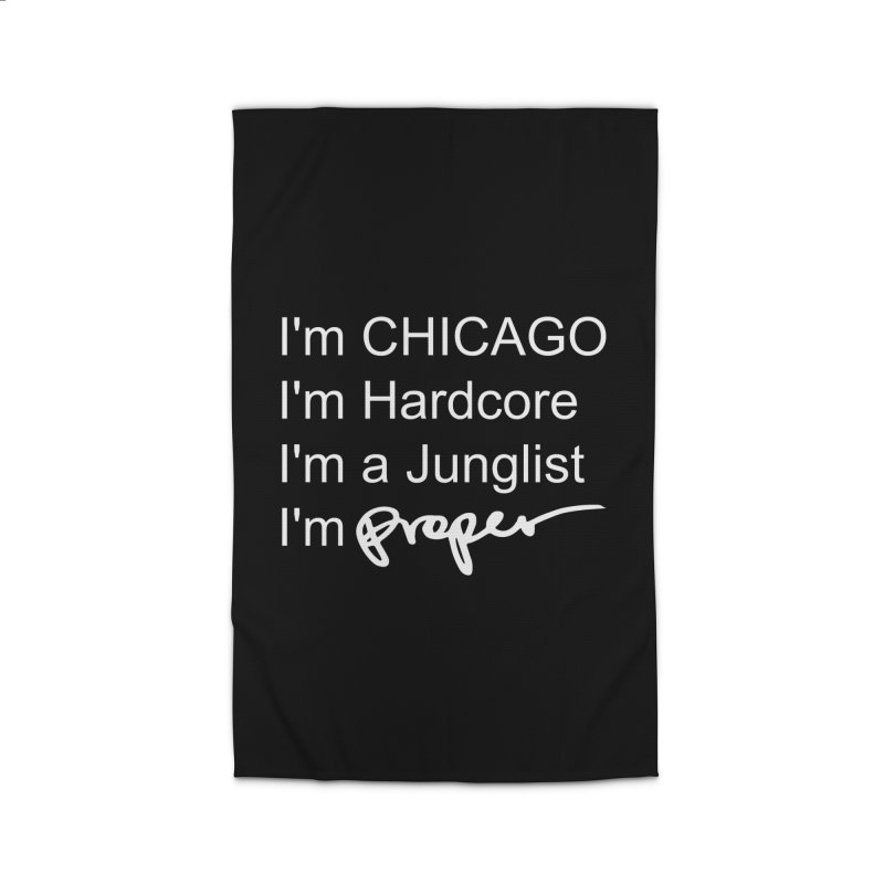 I am Hardcore Home Rug by Properchicago's Shop