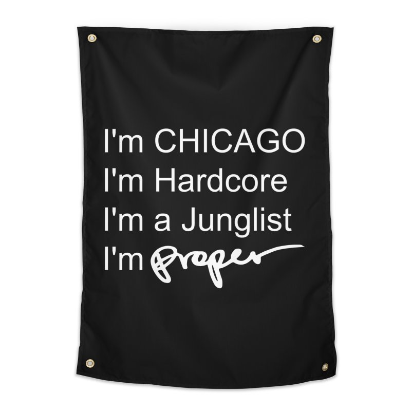 I'm Proper Home Tapestry by Properchicago's Shop