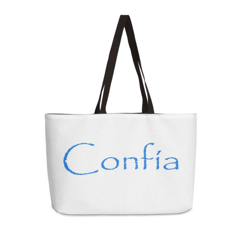Confia Accessories Weekender Bag Bag by Psiconaturalpr's Artist Shop