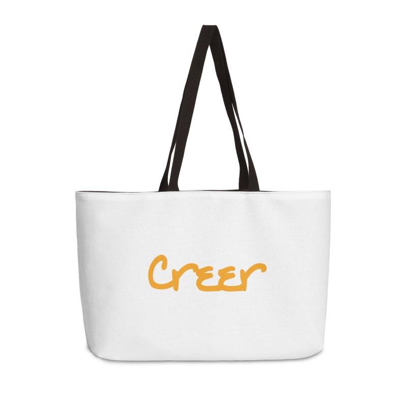 Creer Accessories Weekender Bag Bag by Psiconaturalpr's Artist Shop