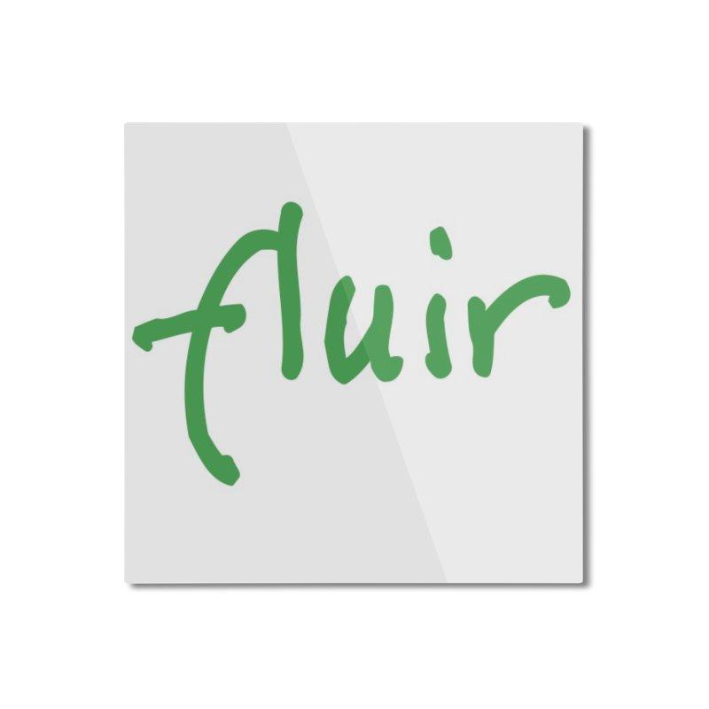 Fluir Home Mounted Aluminum Print by Psiconaturalpr's Artist Shop