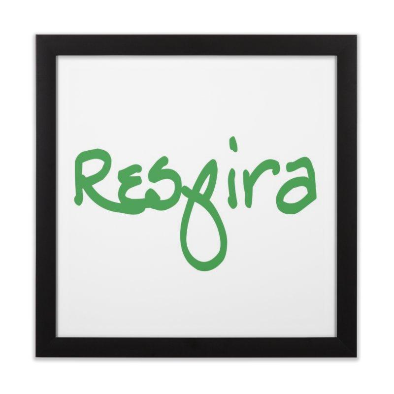 Respira Home Framed Fine Art Print by Psiconaturalpr's Artist Shop
